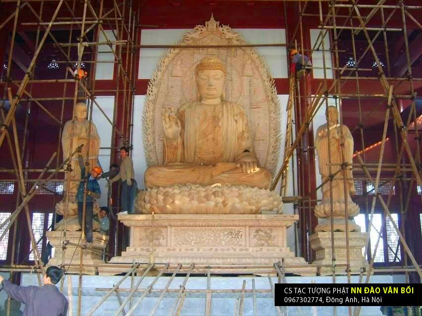 Tạc tượng Phật, Quan âm, Tây phương Tam thánh, Tam thế Phật đẹp